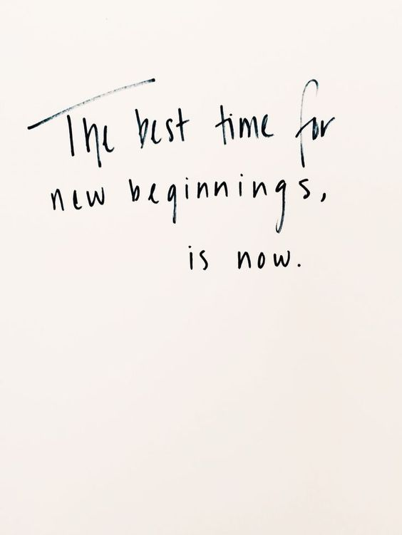 fresh start |
